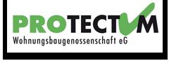 PROTECTUM WOHNUNGSBAUGENOSSENSCHAFT Logo